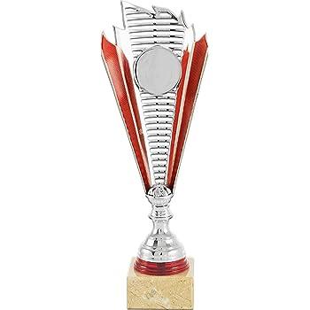 Art-Trophies at81776/Trofeo Sport Taglia Unica Argento//Rosso