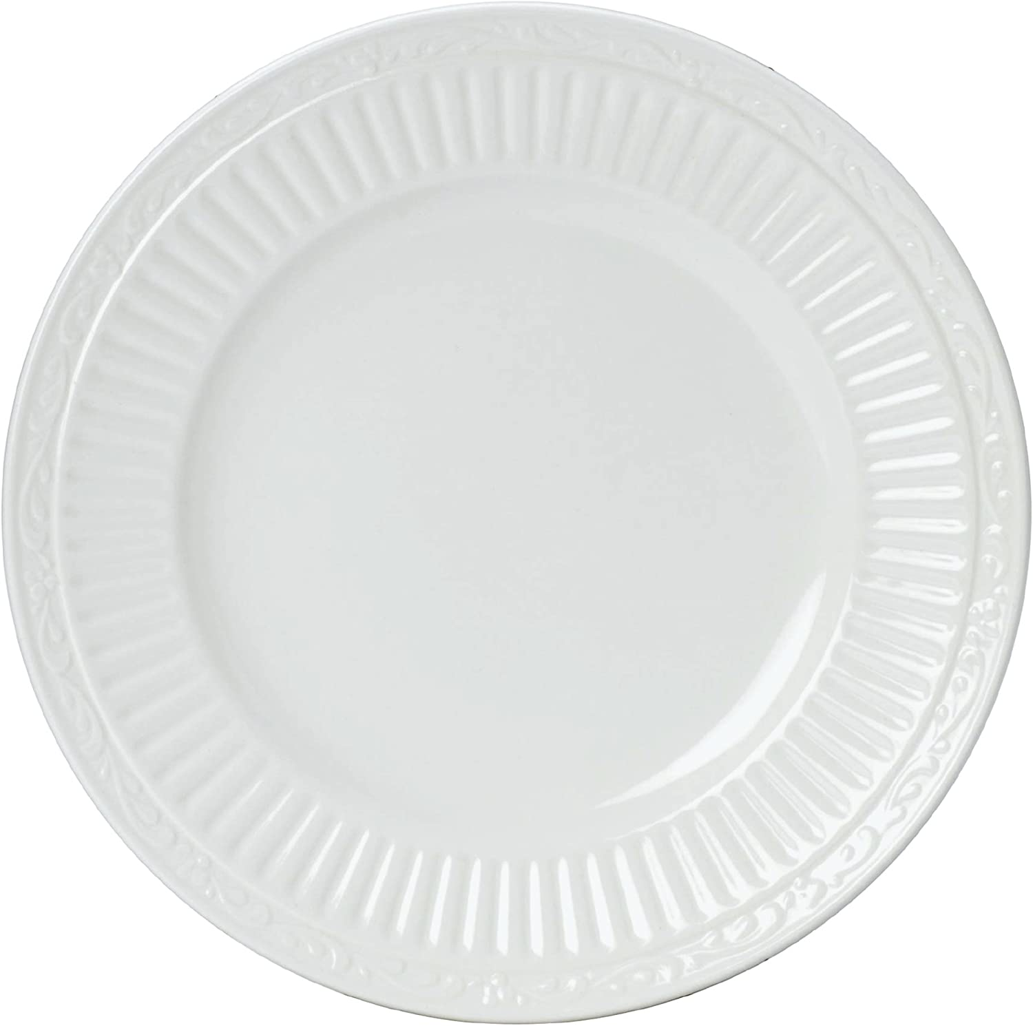 Mikasa Italian Countryside Bread And Butter Plate 6 75 Inch White Single Dd900 203 White Bread And Butter Plate Bread Butter Plates Amazon Com