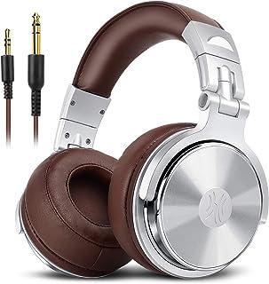 OneOdio Pro30 ヘッドホン 50mmドライバー 厚さ3cm低反発イヤーパッド DJ用 モニターヘッドホン 有線 密閉型 音楽鑑賞/スタジオレコーディング/楽器練習/ミキシング
