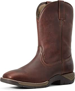 حذاء ARIAT Men's Ranch Work Western Boot بني