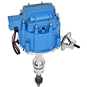 [NRIO_4796]   Amazon.com: A-Team Performance HEI Complete Distributor 65K Coil, 8  Cylinders, Small Block Compatible With Ford 260 289 302 5.0 V8 One-Wire  Installation, Blue Cap: Automotive | 1966 283 Hei Distributor Wiring Diagram |  | Amazon.com