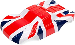 SummitLink Custom Body UK Royal Union Flag Style Compatible for 1/10 Scale RC Car or Truck (Truck not Included) SS-UK-01