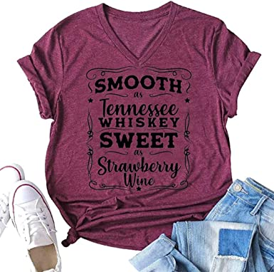 Smooth As Whisky Sweet As Wine Tanktop Soft Unisex Shirt Sizes Whisky /& Strawberry Wine Racertank More Colors At Checkou Day Drinkin Tee
