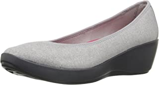Crocs Women's Busy Day Heathered Ballet Wedge