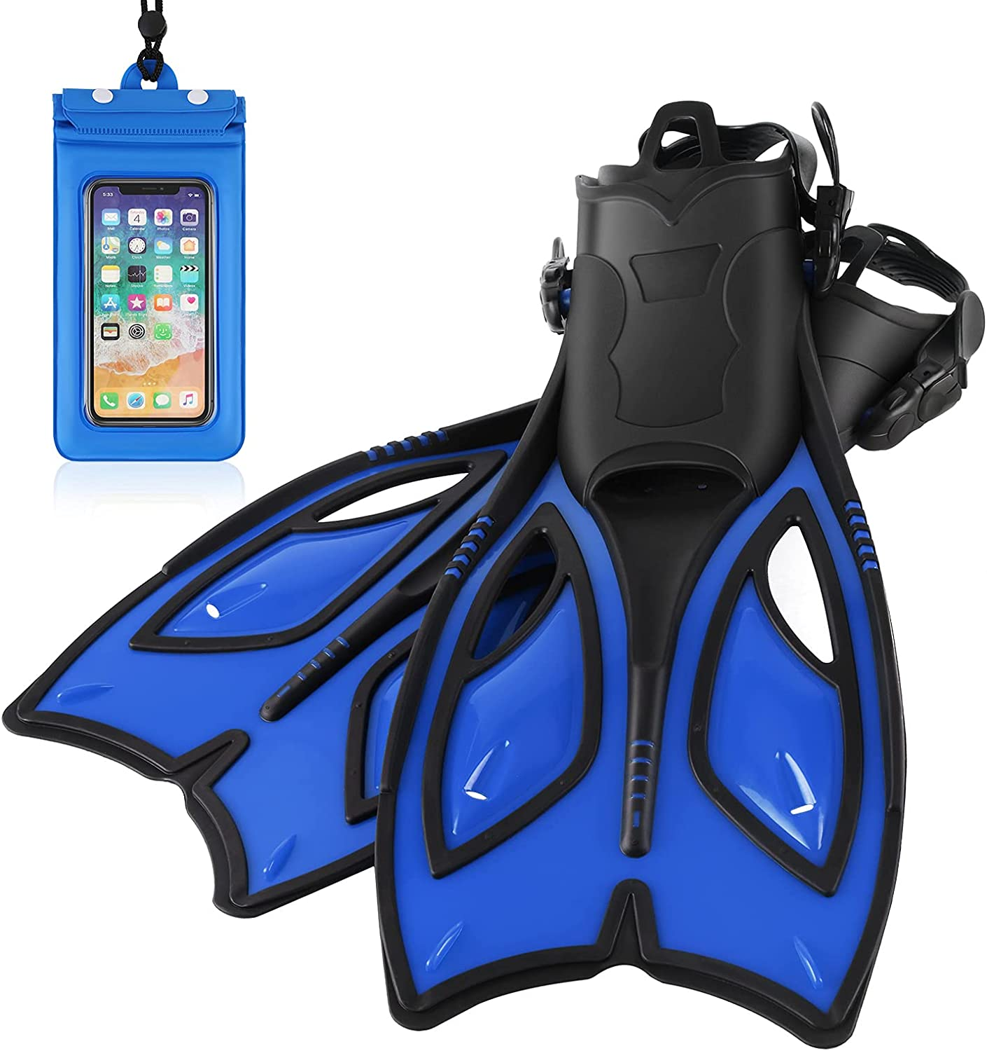 woltics In a popularity 35% OFF Snorkel Fins Diving with Adjustable Scuba Heel Open