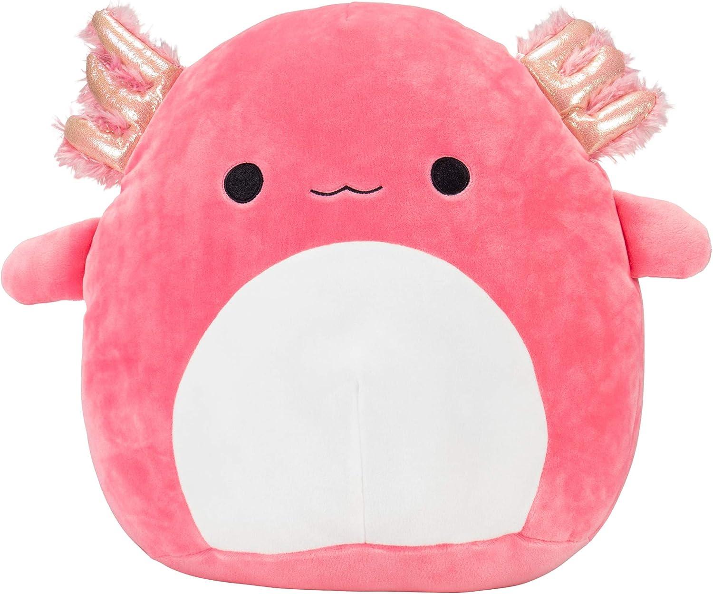"Axolotl Plush Doll Super Soft Plushie Stuffed Animal Small Keychain 4/"" Pink NEW"