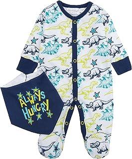 Babytown Baby Boys Sleepsuit /& Hat Set Cute Fun Racing Newborn-9 Months New
