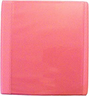 Carolina Pad Studio C 1 Inch Vinyl X-TRM Heavy Duty 3-Ring Binder with Pockets (Pink, 11 Inches x 11.5 Inches x 2 Inches, View Front)