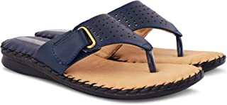 Denill Synthetic Faux Leather Doctor Sole Slippers for Women