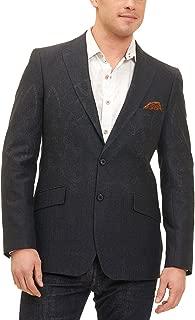Antonine Paisley/Jacquard Charcoal Coat Size 40