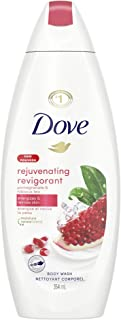 Dove Body Wash with skin natural nourishers Rejuvenating Pomegranate & Hibiscus Tea for instantly soft skin and lasting no...
