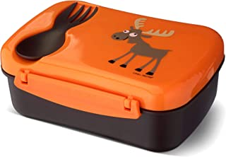 N'ice Box Kids, Lunch box with cooling pack - Orange
