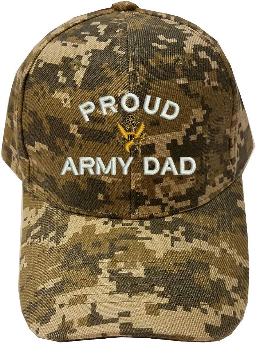 MILITARY Proud Army mart Dad Digital Cap Camo Baseball Hat Max 87% OFF