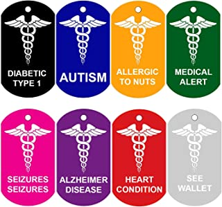 medical alert tags for dogs
