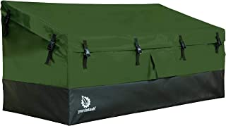YardStash Outdoor Storage Deck Box XL: Easy Assembly, Portable, Versatile (150 Gallon, 20 Cubic Feet, Green)