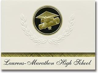 Signature Announcements Laurens-Marathon High School (Laurens, IA) Graduation Announcements, Presidential style, Elite pac...