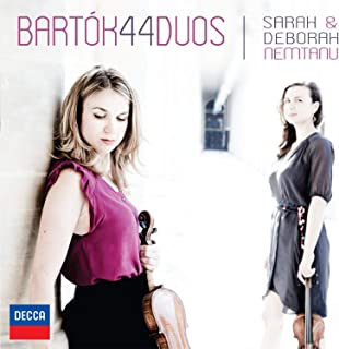 Bartok: 44 Duos for Two Violin