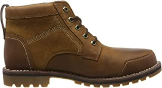 Timberland Mens Larchmont Waterproof Chukka Nubuck Leather Boots