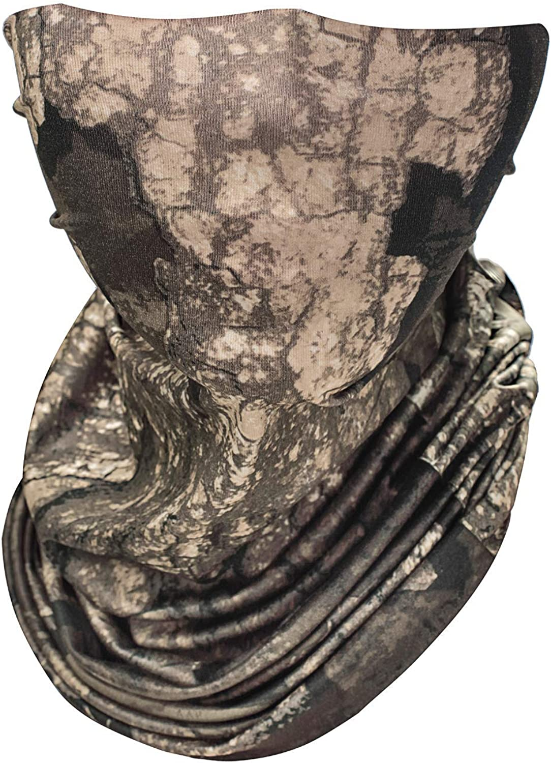 8 Fans Realtree Camo Summer UV Protection Face Mask,Reusable Headwear,Neck Gaiter, for Sport,Outdoor,Fishing,Cycling