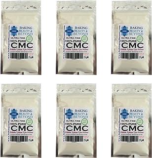 Pure CMC Tylo Tylose - Polvo de goma de mascar y tragacanto, pasta de azúcar comestible 25 g