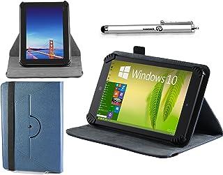 Navitech Housse étui Folio Bleu avec Stylet Compatible avec ASUS ZenPad S 8.0