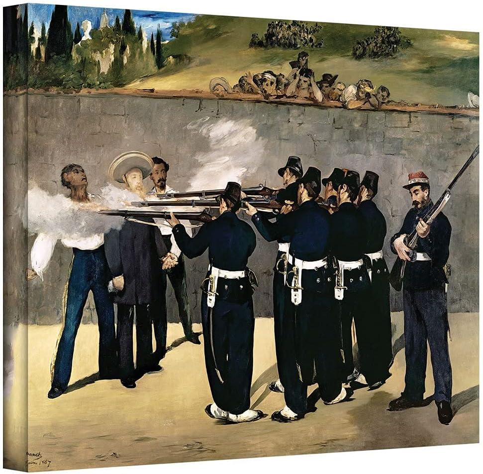ArtWall Edouard Manet 'The Execution Emperor Maximilian' depot online shopping of Gall