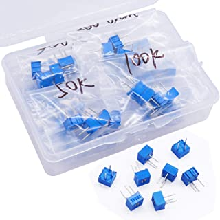 50pcs 3362P High Precision Trimmer Potentiometer Variable Resistor 204 200K Ohm