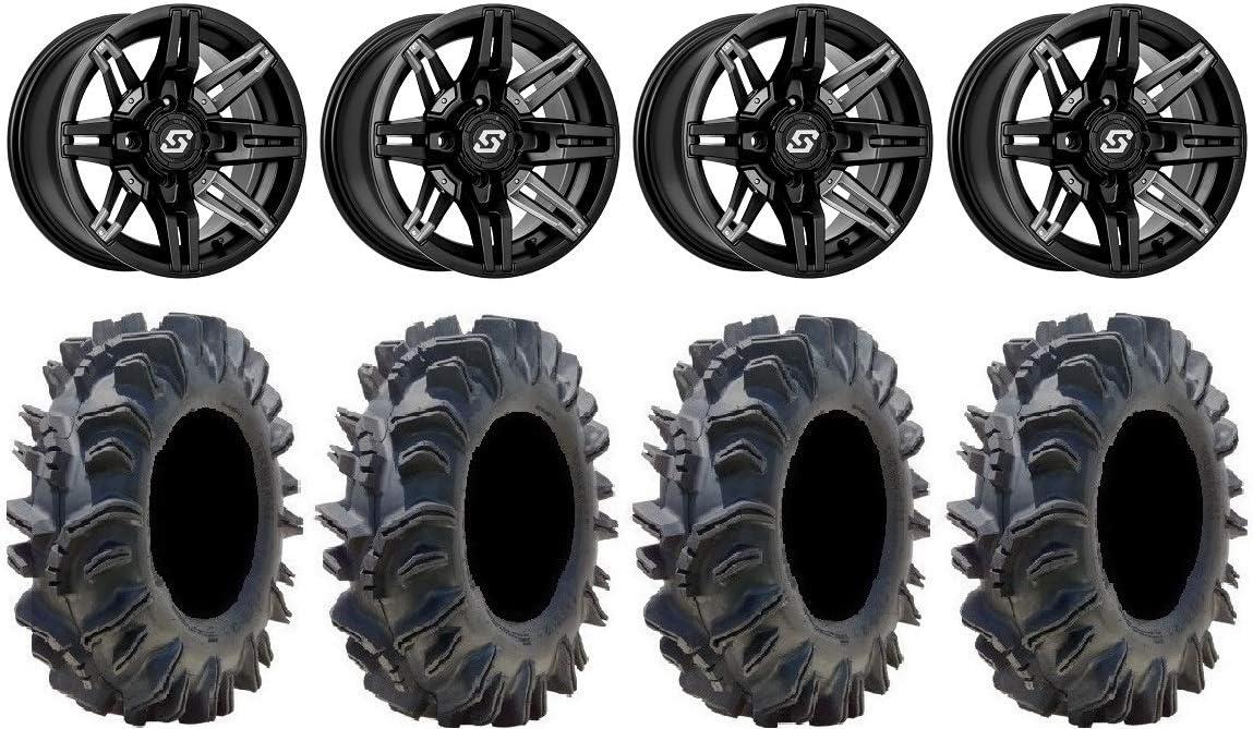 Bundle - 9 Max 64% OFF Items: Sedona Rukus Black Wheels 29.5