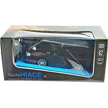 トヨタ・ハイエース ラジコン (幅9.5X長さ19×高さ7.5) (BLACK(ブラック))