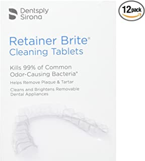 Retainer Brite Cleaning Tablets (12 Tablets)