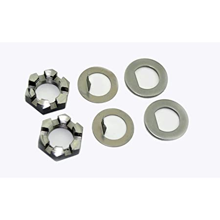 ZFZMZ Replacement Spindle Tang Washers for EZ Lube Spindle for Axles 2K to 7K 4 Pack