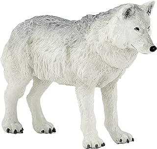Papo Polar Wolf Figure, Multicolor