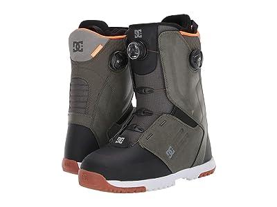 DC Control Dual BOA(r) Snowboard Boots (Olive Camo) Men