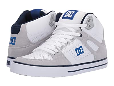 DC Pure High-Top WC (White/Blue) Men