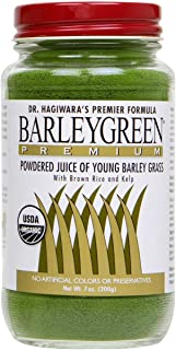 Barleygreen Premium Dr. Hagiwara's Barley Grass with Kelp (1) Certified Organic by USDA
