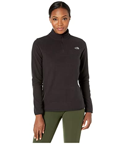 The North Face TKA Glacier 1/4 Zip (TNF Black/TNF Black) Women