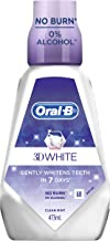Oral-B 3D White Luxe Diamond Strong Clean Mint, 473 milliliters