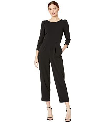 Calvin Klein Puff 3/4 Sleeve Jumpsuit (Black) Women