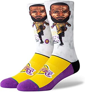 53aba0c345ff7 Stance NBA Los Angeles Lakers Lebron Big Head Chaussettes Homme Multicolore