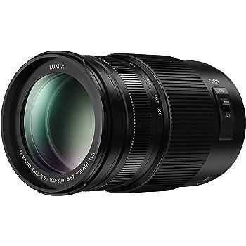 PANASONIC LUMIX G II Vario Lens, 100-300MM, MIRRORLESS Micro Four Thirds, Power O.I.S, H-FSA100300 (USA Black) (Renewed)