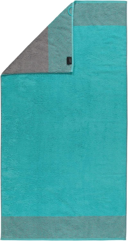 Caw/ö Two-Tone Serviette Turquoise 50x100