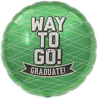 "Northstar 18"" Way To Go Green Foil Balloon, Multicolor"
