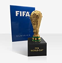 FIFA Volwassenen CLASSICS WORLD CUP Trophy 150 mm in 3D op acryl basis replica, goud