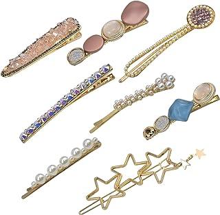 Kopfbekleidung Frauen Perlen Haarnadeln Barretten Haarklammern Haarnadel