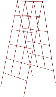 """Panacea A-Frame Plant Supports, Red, 48"""", Pack of 10"""