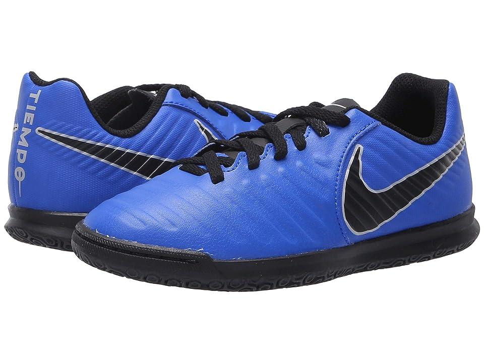 Nike Kids LegendX 7 Club IC Soccer (Toddler/Little Kid/Big Kid) (Racer Blue/Black/Wolf Grey) Kids Shoes