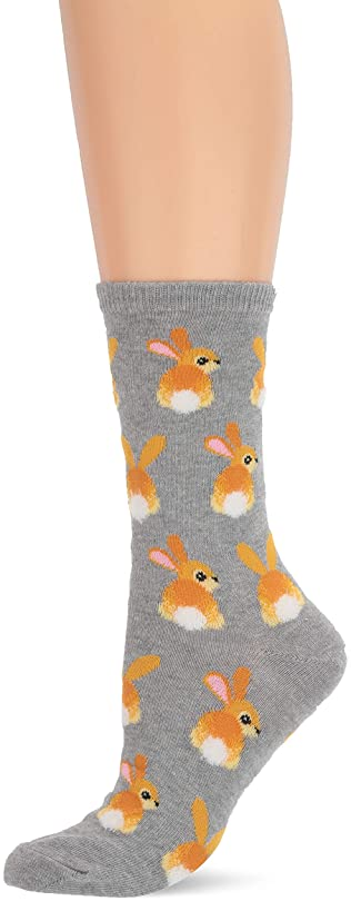 Hot Sox Women's Animal Series Novelty Casual Crew Socks