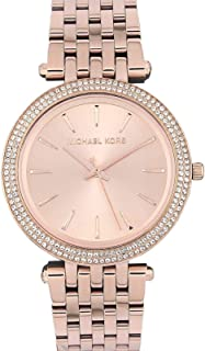 MICHAEL KORS Womens Analogue Automatic Watch with Stainless Steel Strap MK3192