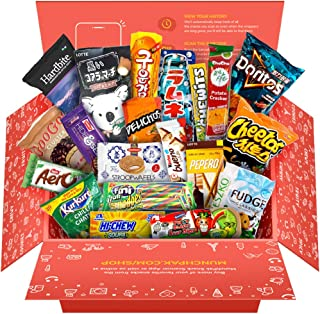 Snack Box from around the world - Care Package (20 Count)