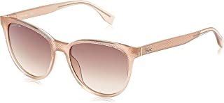 LACOSTE Women's L859S Sunglasses, Pink (Nude), 56.0